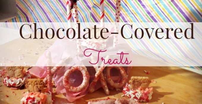 Chocolate Covered Valentine's Day treats
