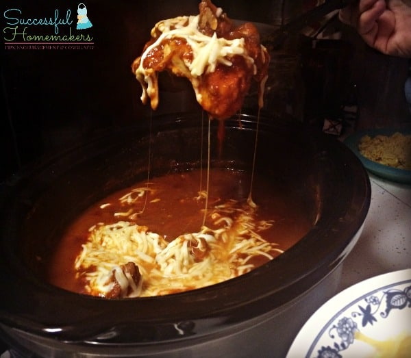 Crock Pot Low-Carb Chicken Spaghetti ~ Successful Homemakers