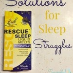 Solutions for Sleep Struggles ~ Successful Homemakers