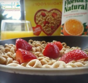 A Classic Combination- Cheerios and Florida Orange Juice plus a coupon & giveaway! ~ Successful Homemakers