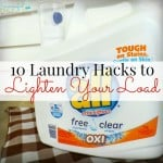 10 Laundry Hacks to Lighten Your Load