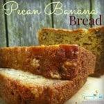 Pecan Banana Bread recipe