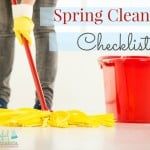 Spring Cleaning Checklist ~ Successful Homemakers