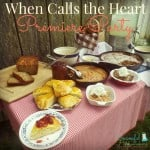 When Calls the Heart Premiere Party ~ Successful Homemakers