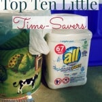 Top Ten Little Time-Savers ~ Successful Homemakers