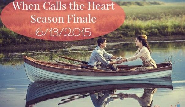 When Calls the Heart Season Finale- 6/13/2015- Join me!