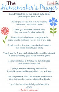 Protected: Homemakers encouragement free printables