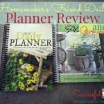 Homemaker's Friend Daily Planner Review & Giveaway ~ Successful Homemakers