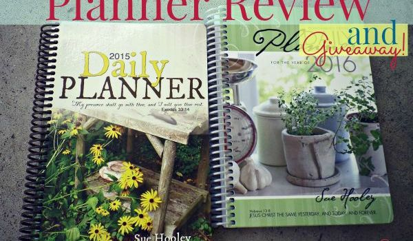 Homemaker's Friend Daily Planner Review & Giveaway