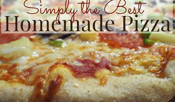 Simply the Best Homemade Pizza