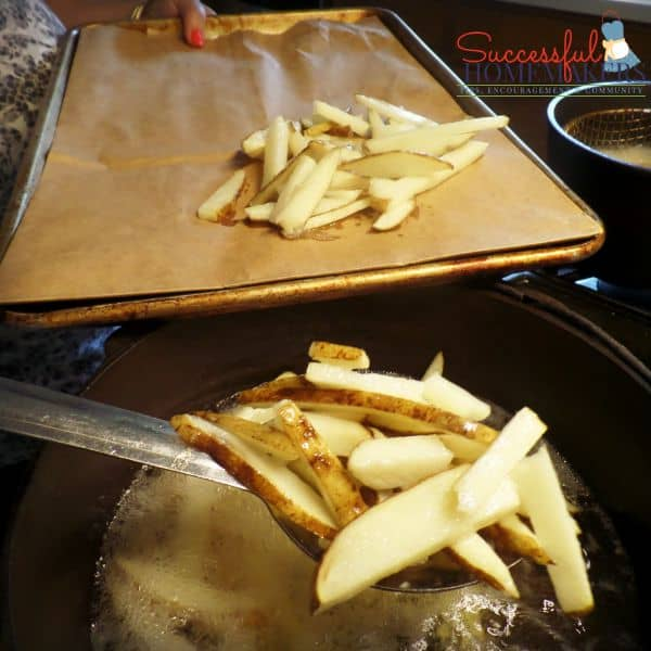Homemade French Fries, The Easy Way ~ Successful Homemakers