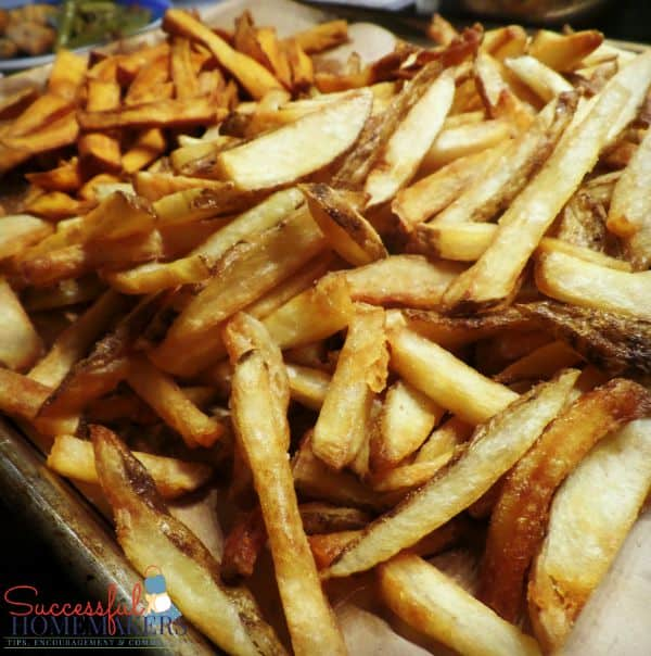 Homemade French Fries: The Easy Way ~ Successful Homemakers