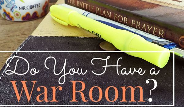 Do you have a War Room?