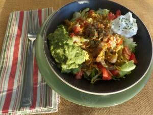 Chicken Fajita Salad- THM Friendly ~ Successful Homemakers