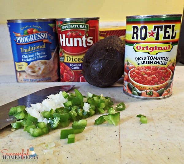 Simple Chicken Cheese Enchilada Boats ~ Successful Homemakers