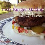 Tasty Burger Making At Home