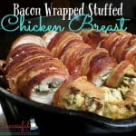 Bacon Wrapped Stuffed Chicken Breast recipe- THM friendly ~ Successful Homemakers