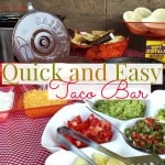 Quick and Easy Taco Bar