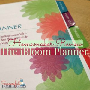 Homemaker Review- the iBloom Life and Business Planner