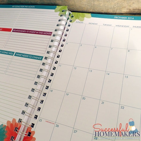Homemaker Review- the iBloom Planner ~ Successful Homemakers