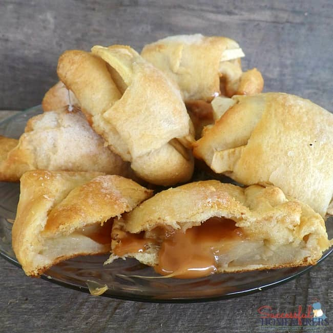 Caramel Apple Dessert Crescents ~ Successful Homemakers