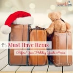15 Must Have Items Before Your Holiday Guests Arrive