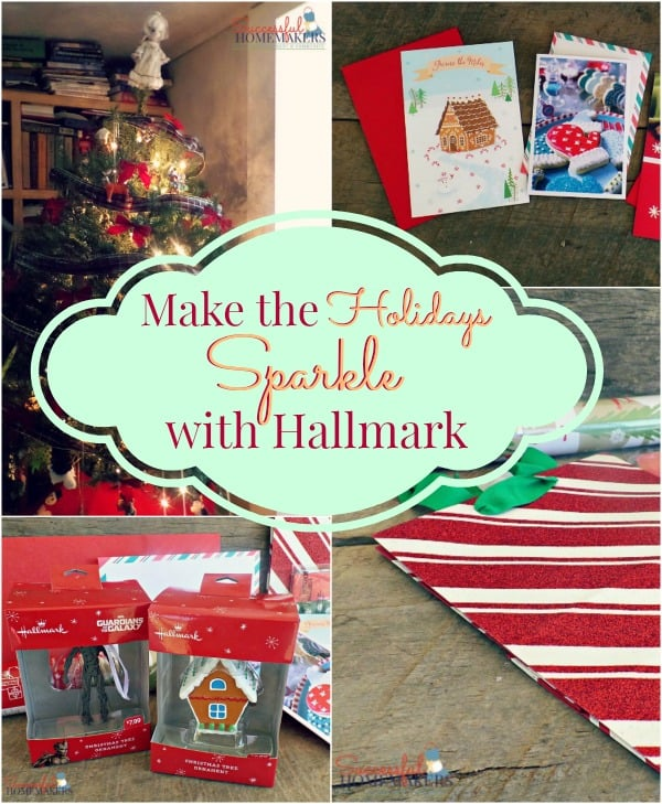 Make the Holidays Sparkle with Hallmark ~ Successful Homemakers {and my Mom's Sugar Cookie recipe!}