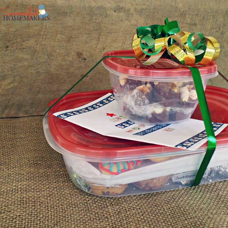 Homemade Gift Idea for Service Providers