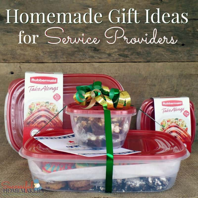 Homemade Gift Idea for Service Providers ~ Successful Homemakers