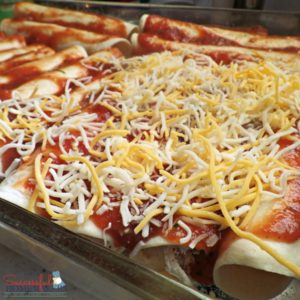Quick and Easy Christmas Enchiladas ~ Successful Homemakers