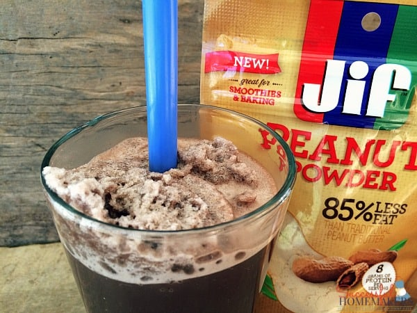 10 Ways to Wellness ~ Successful Homemakers  Triple Chocolate Peanut Butter Smoothie