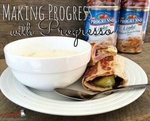 Making Progress with Progresso! ~ Successful Homemakers