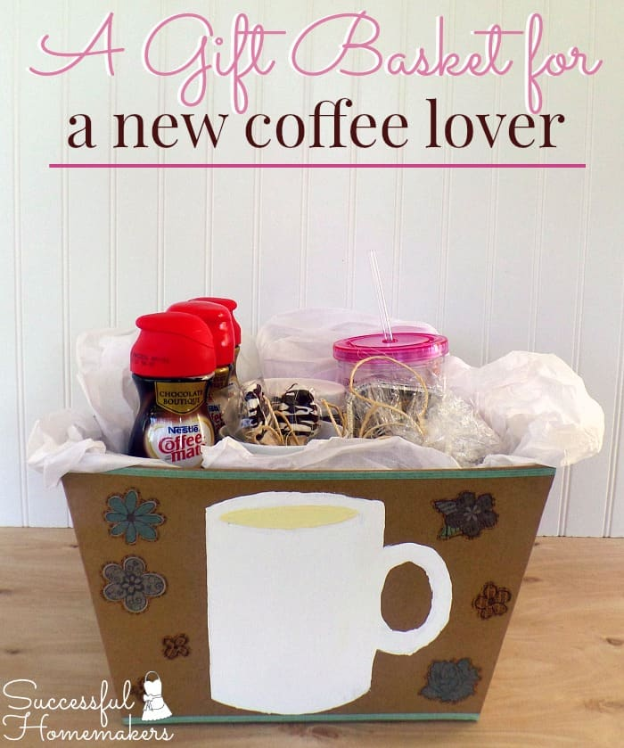A Gift Basket for a New Coffee Lover