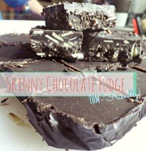 Skinny Chocolate Fudge- THM friendly ~ Successful Homemakers