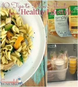 10 Tips to Plan Ahead For a Healthy Lifestyle