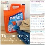 Tips for Teens- Laundry How To
