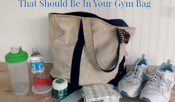 15 Must Have Items That Should Be In Your Gym Bag