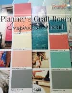Planner & Craft Room Inspiration Ahead!