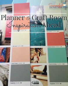 Planner & Craft Room Inspiration Ahead!