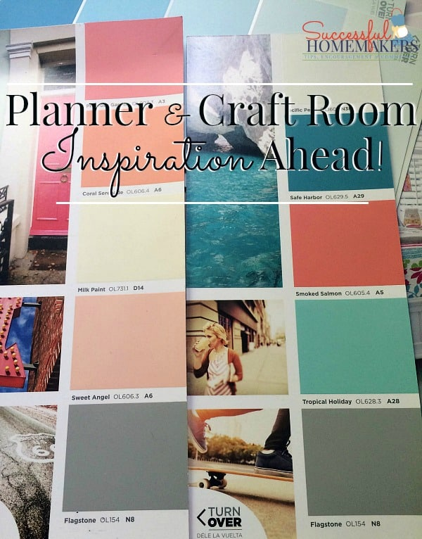 Planner & Craft Room Inspiration Ahead! ~ Successful Homemakers
