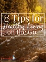 8 Tips for Healthy Living on the Go