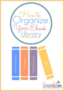 How to Organize Your Ebook Library