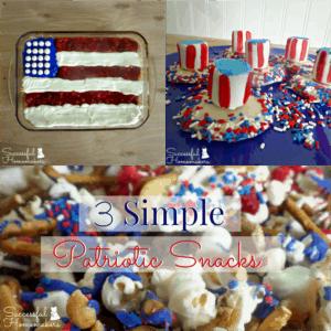 3 Simple Patriotic Snacks