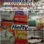 5 Easy Ways to Save in the Kitchen
