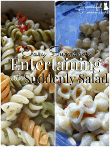 Easy Summer Entertaining with Suddenly Salad