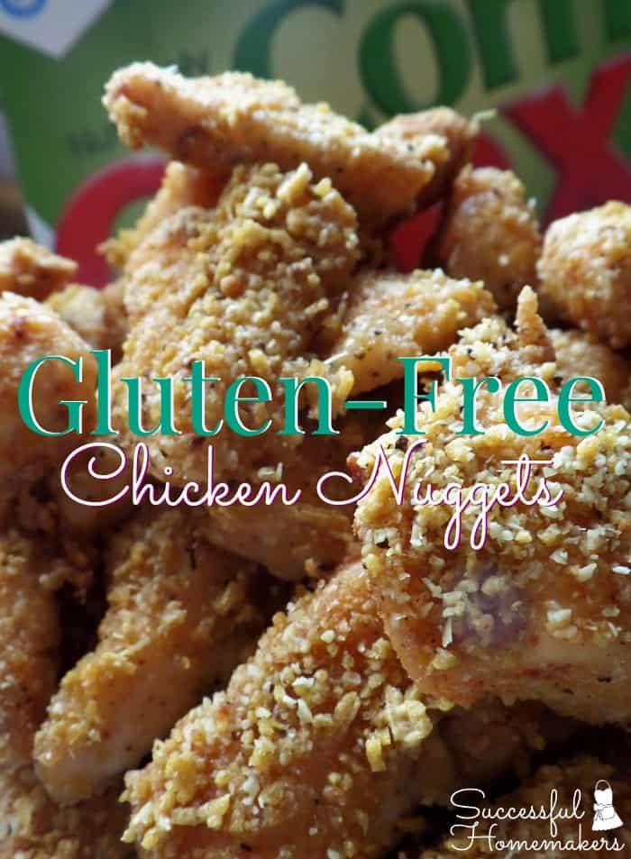 Gluten-Free Chicken Nuggets ~ Successful Homemakers