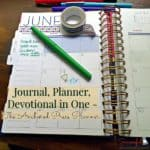 Journal, Planner, Devotional in One- The Anchored Press Planner