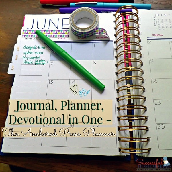 journal planner devotional in one the anchored press planner