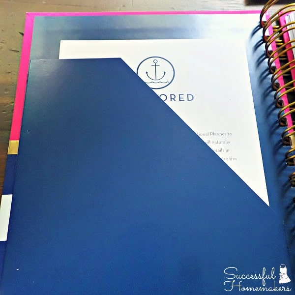 Journal, Planner, Devotional in One- The Anchored Press Planner ~ Successful Homemakers