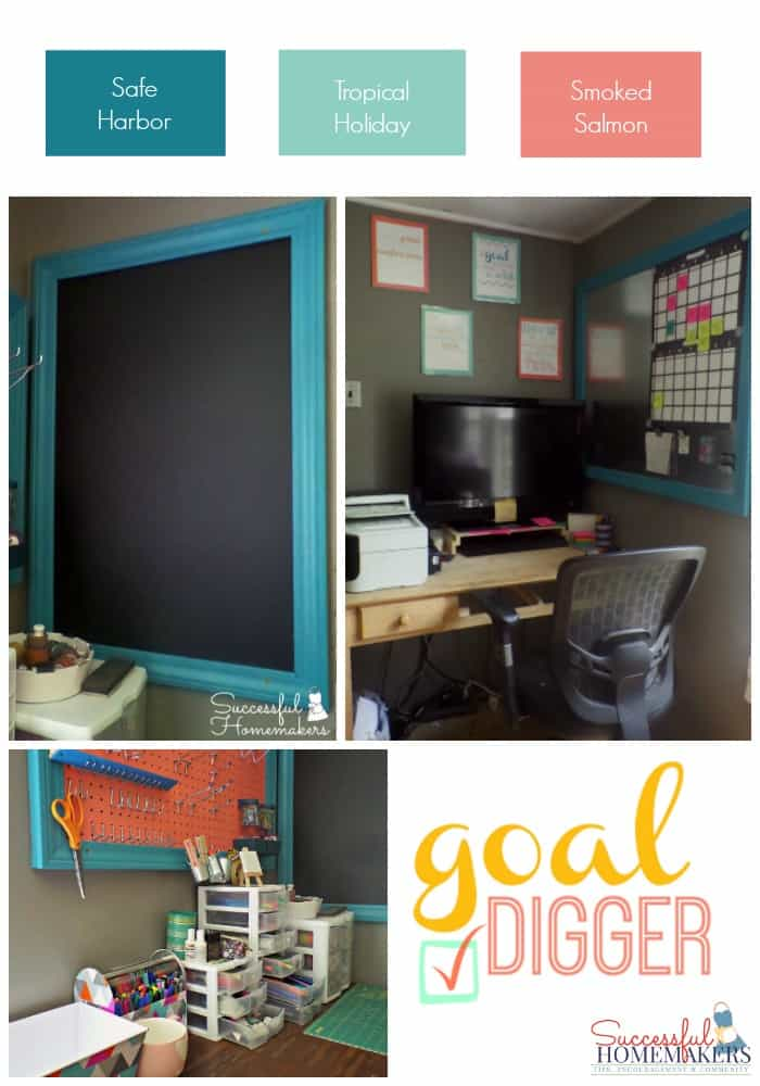 Office Makeover Mood Board ~ Successful Homemakers